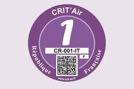 chambre a aire voiture certificats qualité de l air crit air ministère de la