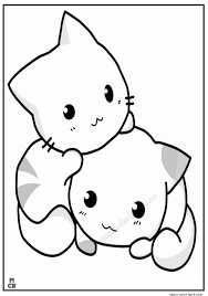 Cats Coloring Pages Free Animal