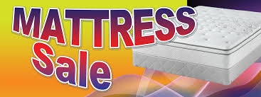 Mattress Sale Large 3x8ft Full Color Banner Sign Y B Bl R