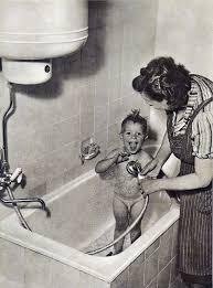 berlin neues badezimmer in der stalin allee 1952 neues