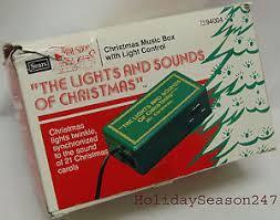 vintage mr lights sounds electric box tree