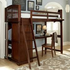 white bookcase bedroom furniture wayfair walnut loft bed by