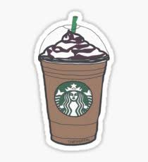 Starbucks Drawing Stickers