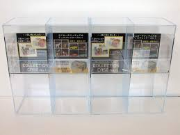 Wall Display Shelves For Collectibles Thin Strong Plastic Material Small Transparance Stayed Drawer Modern Design High