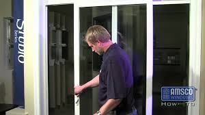 Reliabilt Patio Doors 332 by Adjusting The Rollers On A Sliding Patio Door Youtube