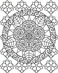 Free Printable Complex Coloring Pages