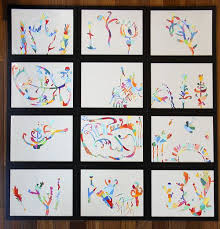 Easy Fun Creative Art Project For Kids Or Adults Try It Small Scale