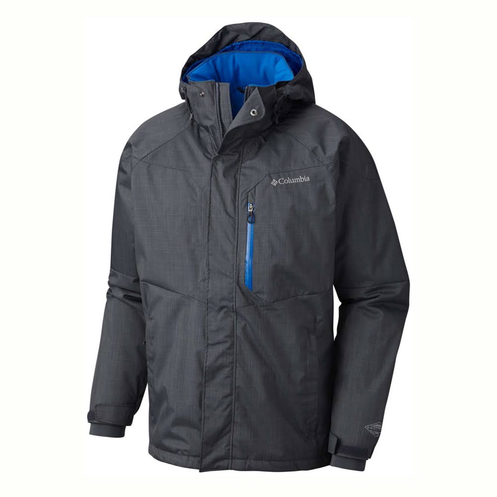 Columbia Men's Alpine Action Jacket - 3X - Graphite / Super Blue
