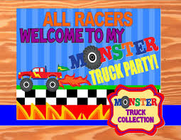 MONSTER Truck Party- Monster Truck SIGN- Truck Party – Krown ... Pit Party Monster Jam Houston 2 12 2017 Youtube Truck Favor Tags Forever Fab Boutique Birthday Check Out This Cool Monster Truck Boy Birthday Party Favor Bags Invitations Marvelous Inside Awesome 50 Unique Club Pack Of 96 Mudslinger Plastic Loot Bags Invitation Etsy Monster Truck Food Labels Its Fun 4 Me 5th Sign Krown