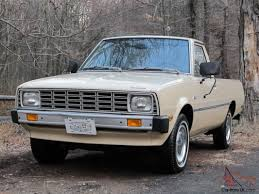 100 Plymouth Arrow Truck 1980 PLYMOUTH ARROW PICKUP MITSUBISHI FORTE One Owner Original Title