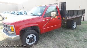 100 Chevy 3500 Dump Truck For Sale 1995 Chevrolet Cheyenne Dump Flatbed Pickup Truck Ite