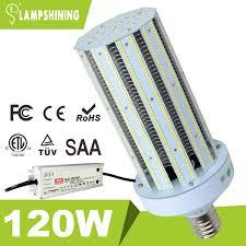 120 watt 347 480vac meanwell power corn style led retrofit light bulbs