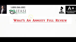Sinking Fund Annuity Calculator by What U0027s An Annuity What U0027s An Annuity Full Review Youtube