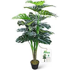 crosofmi artificial monstera deliciosa plant 47