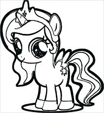 Pinkie Pie Coloring Page My Little Pony Pages Baby