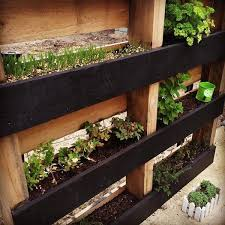 Diy Pallet Vertical Herb Garden Hanging Planter 99 Pallets Regarding