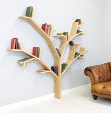 stunning handmade tree design shelves by bespoak interiors tree