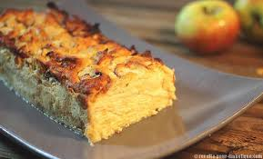 dessert aux pommes sans gluten gâteau invisible aux pommes sans gluten