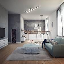 b k licht led deckenleuchte led modul warmweiß led design deckenle wohnzimmer modern acrylweiß aluoptik 6 watt