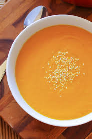 Vitamix Pumpkin Curry Soup by Creamy Curry Carrot Soup