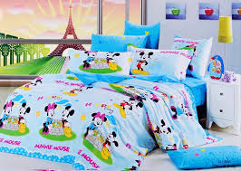 blue mickey and minnie mouse bedding sets kids bedding sets