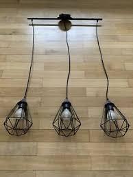 details zu eglo pendelleuchte tarbes vintage in schwarz 3 flammige hängele esszimmer
