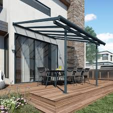 Palram Feria Patio Cover Uk by Palram Greenhouses With Polycarbonate Glazing In Green And Silver