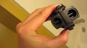 Kohler Forte Bathroom Faucet Leaking by Kohler Shower Repair In Hd Part 6 Compare Old And New Cartridge
