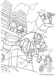 Bowler Hat Guy Thrown Out Of InventCo Labs Coloring Pages