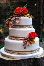 Rustic Autumn Wedding CakeJPG