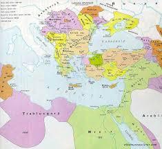The Maps of Ottoman Empire