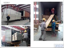 100 Container Houses China Sandwich Panel 20FT Flat Pack House