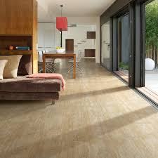 seascape porcelain tile blends the look of weathered wood cut