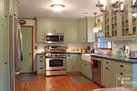 Sage Green Kitchen Country Gr Rustic Cabinets