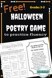 Poems About Halloween For Adults by Free Halloween Poetry Game