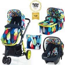 siege auto cosatto cosatto giggle 2 3 in 1 travel system pram pitter patter with