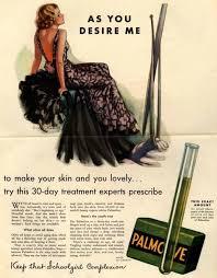 Palmolive Skin Care Print Ad 1933