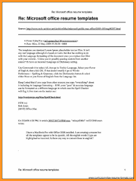 Microsoft Publisher Resume Templates Free Template