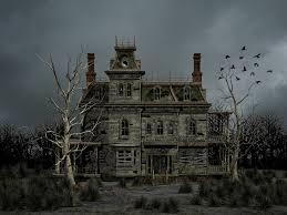 Background Haunted House
