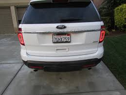 how to replace a light for a 2011 2015 ford explorer 2011