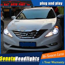 auto part style led l for hyundai sonata led headlights