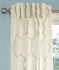 amour contemporary lined curtains with 4 back tabs country