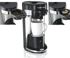 Hamilton Beach Flexbrew Coffee Maker Single Serve Reviews Drinker