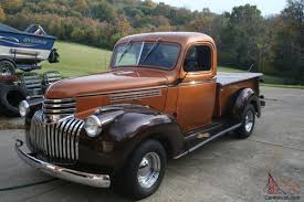 1946 Chevy Truck 327 V8 Auto Power Disk Breaks
