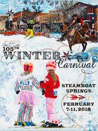 2018 Winter Carnival Commemorative Poster