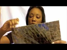 Bathroom Mosaic Mirror Tiles by Hgtv Mirror Project With Mosaic Tiles Youtube