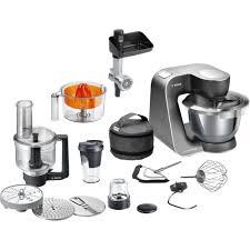 bosch de cuisine mum5 chrome incl 9 accessoires mum59