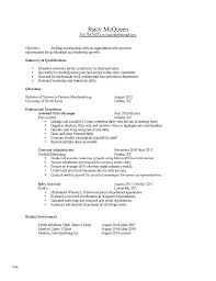Free Resume Examples For Jobs Good Retail Template Job