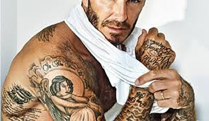 One Of The Tattoo Addicted Celebrities That Always Inspires S With A New Is David Beckham Former Talented Soccer Player And Model Loving Father