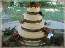 Ribbon And Leaves For Natural Rustic Cake